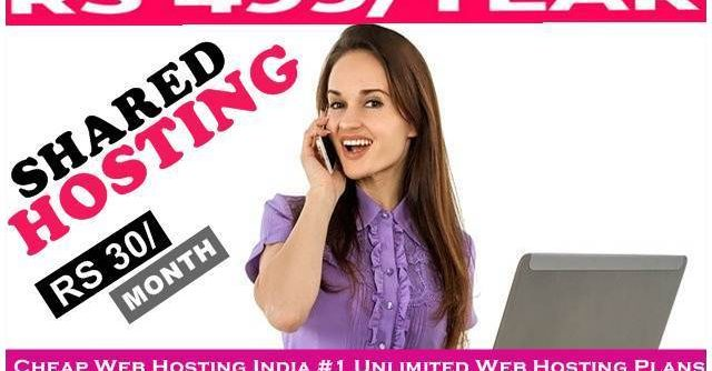 Cheap Web Hosting India: #1 Unlimited Web Hosting Plans Only 499 year