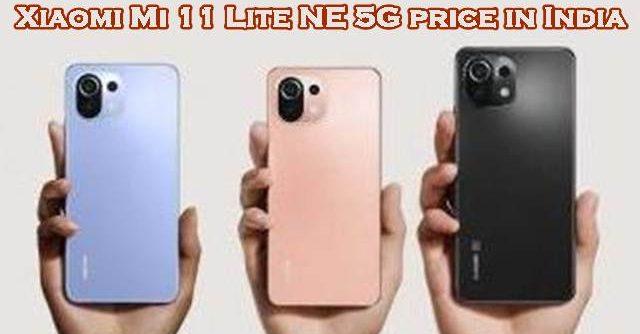 Xiaomi Mi 11 Lite NE 5G price in India